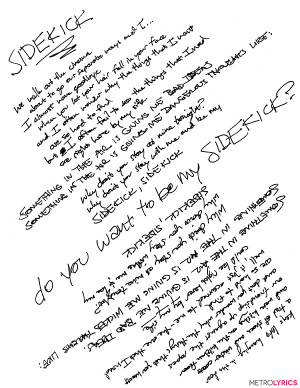WALK THE MOON Preview New Album With Awesome Hand-Drawn Lyric Art ...