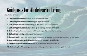 Brene Brown on Wholehearted living
