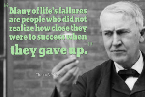 Thomas Edison Inspirational Quotes