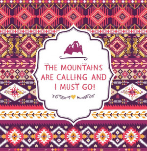 Navajo seamless colorful tribal pattern with quotes on labels Art ...