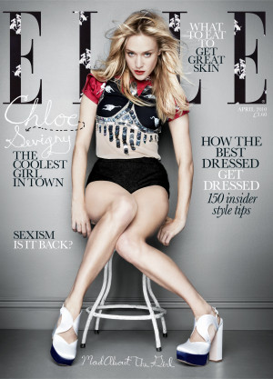 Photos and Quotes from Chloe Sevigny On the Cover of Elle UK Magazine ...