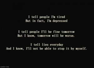 sad depression quotes