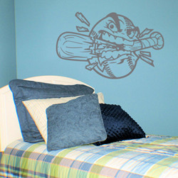 Baseball Attitude Wall Decals