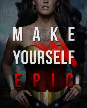 be you own superhero!