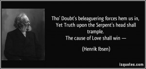 More Henrik Ibsen Quotes