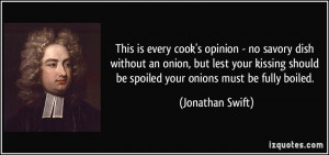 ... onion, but lest your kissing should be spoiled your onions must be