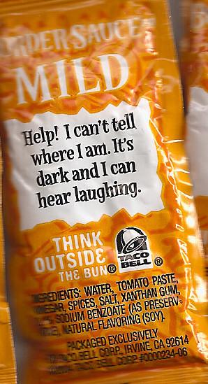 Taco Sauce Wisdom