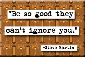 Steve Martin Quote Magnet (no.259)