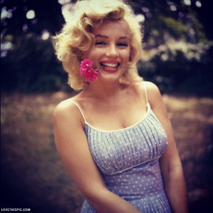 Cute Marilyn Monroe