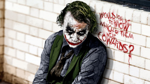 ... Waits for creating 'the JOKER' in the dark knight… take a look