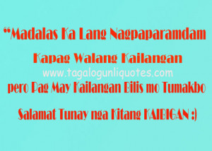 New Tagalog Friendship Quote 2013
