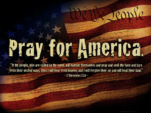 """May 2, 2013 THEME: """"Pray for America"""""""