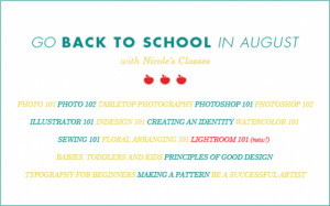 Go Back to School with Us in August!