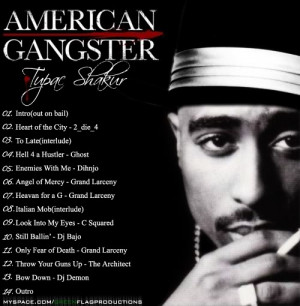 2pac american gangster Image