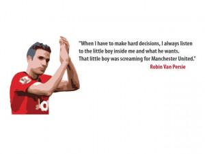 Van Persie Quotes Robin van persie little boy