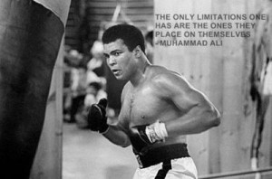 The only limitations one has are the ones they place on themselves ...