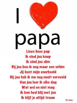Papa - Gerepind door www.gezinspiratie.nl #Papaspiratie #vaders # ...