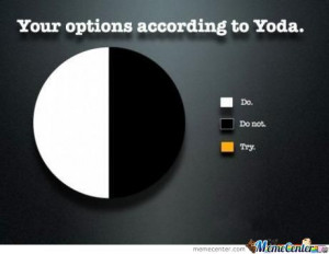 Options According To Yoda