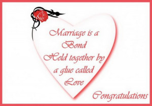 Congratulations On Wedding Quotes
