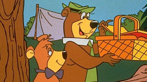 Yogi Bear Picnic Basket