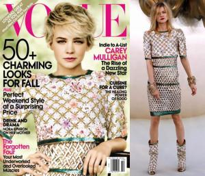 Carey Mulligan covers US Vogue