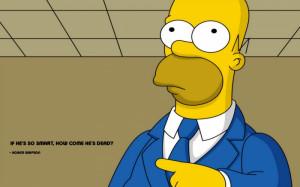 Homer Simpson Quote Wallpaper