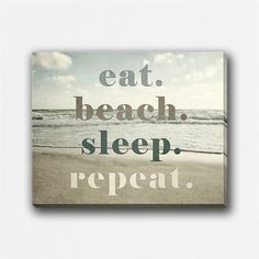 ... beach decor canvas wrap beach gallery wrap canvas beach quote beach