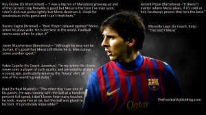 Lionel Messi Soccer Quotes...