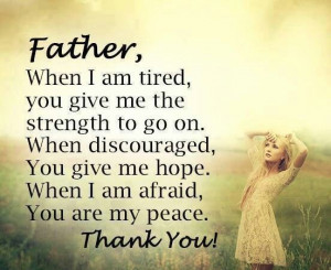 Father thank you