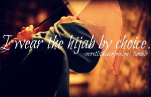 Hijab confession