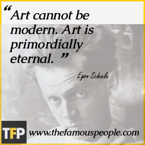 Klimt who took him under his wings, as he was famous for mentoring ...