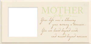 Loss Of Mother Sympathy Frame