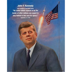 before an american had been in space john f kennedy