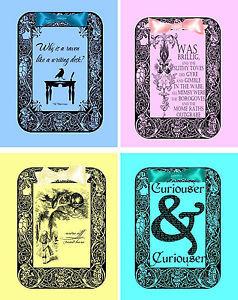 Vintage-inspired-Alice-in-Wonderland-quotes-tea-bag-envelopes-party ...