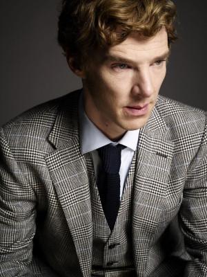 Sherlock on BBC One Benedict Cumberbatch