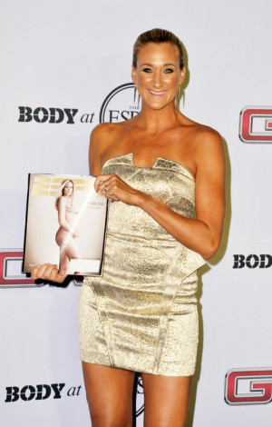 Kerri Walsh Jennings at the 5th annual ESPN The Magazine's body issue ...