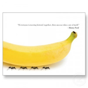 Teamwork Quotes For The Office Teamwork quote - funny banana