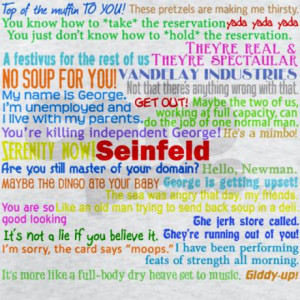 Seinfeld Quotes Shirt Admin