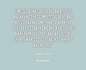 Quotes About Shawn Johnson
