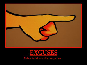 funny excuses