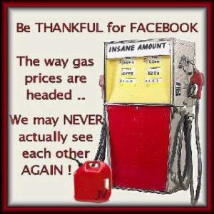 Gas Prices ~ Record Highs ~ New World Emergency