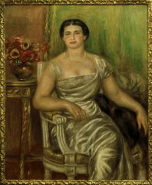 Image: Pierre-Auguste Renoir - A.Renoir, Alice Vallières-Merzbach