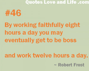 Working Day quote #1