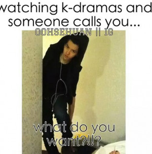 funny korean drama meme