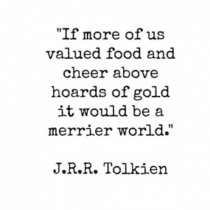 Quotes by J R r Tolkien