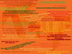 Hetalia Quotes Wallpaper by Naviar