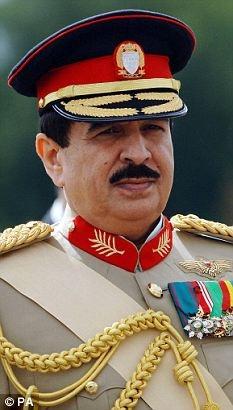 King of Bahrain Shaikh Hamad Bin Isa Al Khalifa