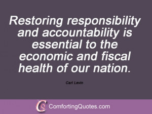Quotes On Responsibility and Accountability