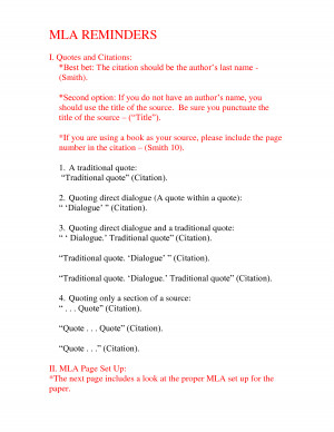 mla format mla reminders quote mla format quotes mla formatting quote ...