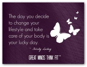 motivational weight loss quotes today is your lucky weight loss day